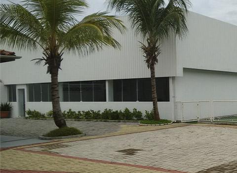 Entrada do prédio de FASS