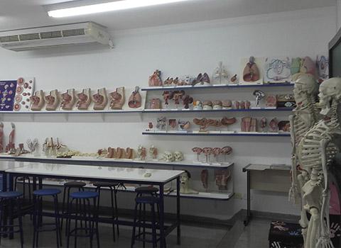 Estrutura dos laboratórios